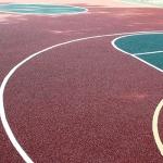 Покрытие спортивной площадки из резиновой крошки