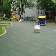 Детская площадка из плитки 500 х 500 мм