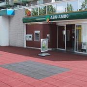 Входная зона магазина из резиновой плитки